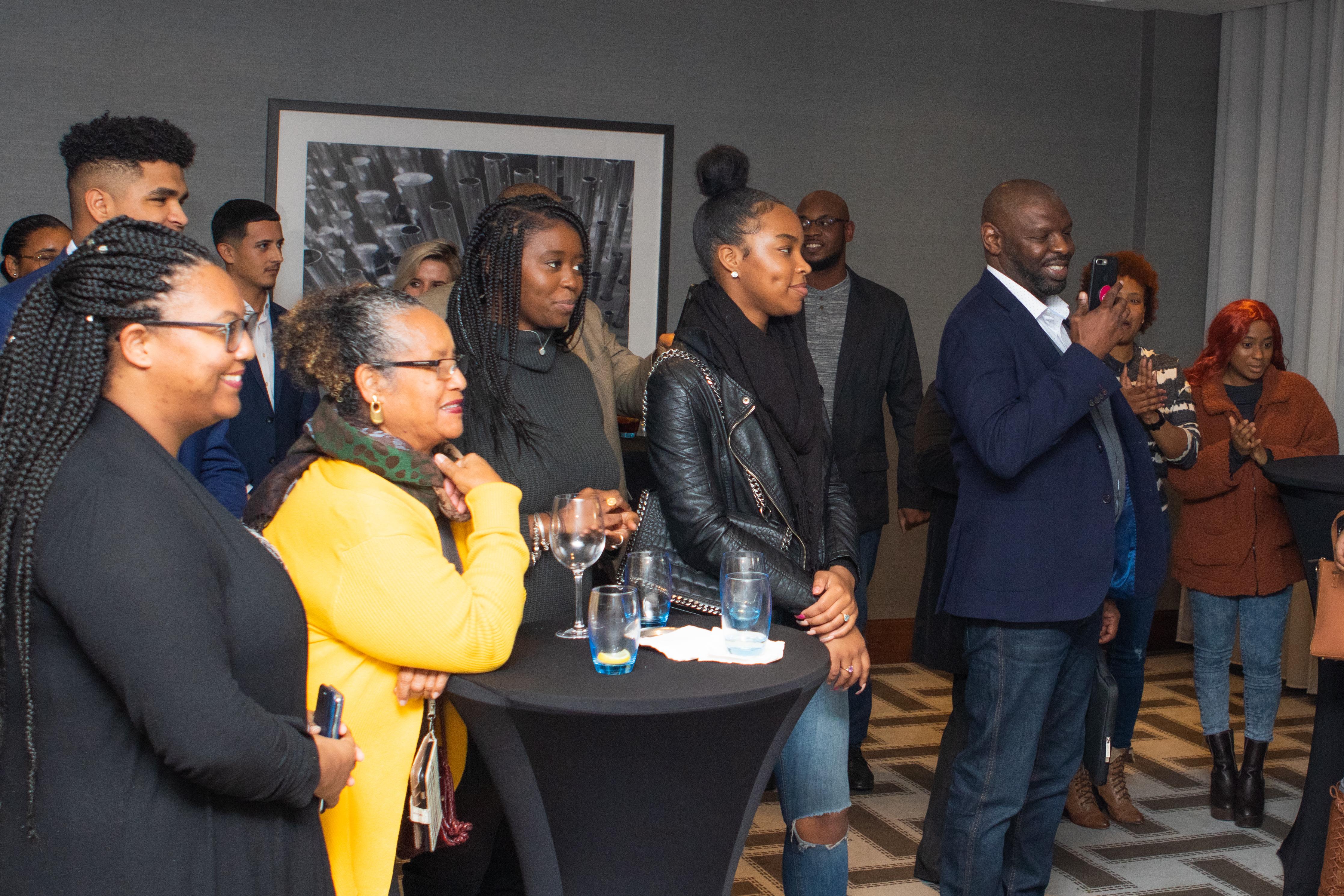 Bermuda Reception: Birmingham 2019