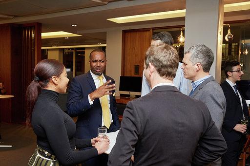 Bermuda Reception: London 2019