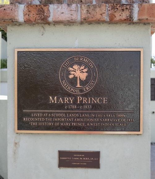 Mary Prince: a National Hero
