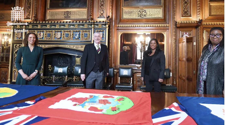 UK Parliament Flies Bermuda's Flag